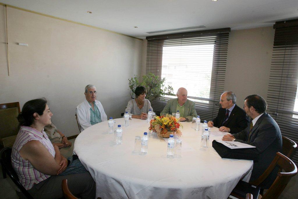 23/06/2008 - Reunió de treball amb el llavors President de la Generalitat, senyor Josep Montilla, en ocasió de la trobada a Marsella de les Regions del Mediterrani.