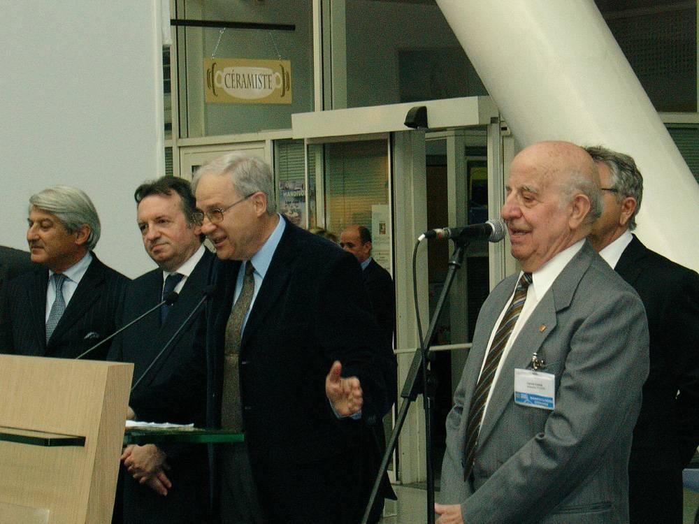 Inauguració de la Fira Artesanal organitzada pel Conseil General del 23 al 30 d'abril del 2008 amb Catalunya com a país convidat.