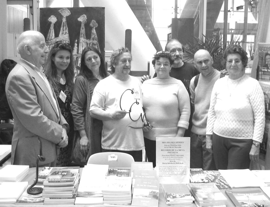 Obsequi al Cercle dels forjadors invitats a la Fira Artesanal de Marsella - 23 al 30 d'abril