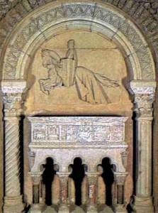 Tomba de Ramon Berenguer III, al monestir de Ripoll