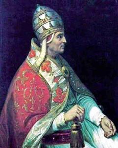 Retrat del papa Urbà V