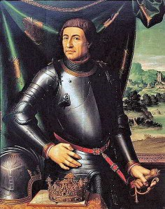 Retrat del rei Alfons V.