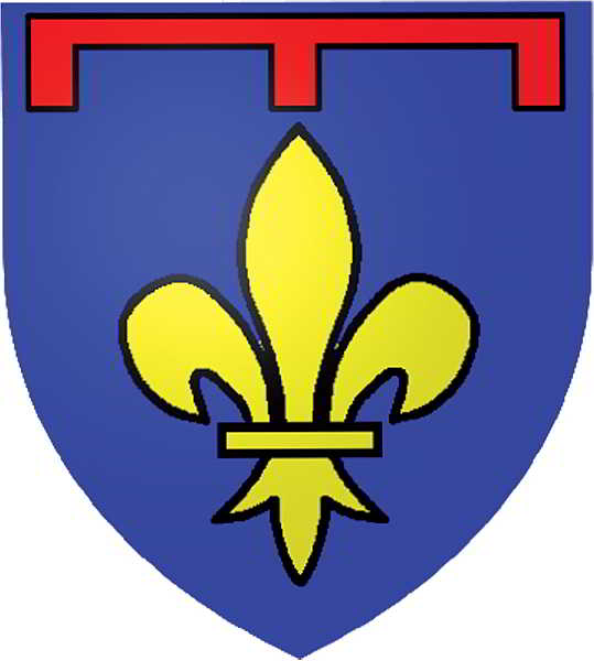 Escut d'armes de Provença, sota la dinastia Anjou.