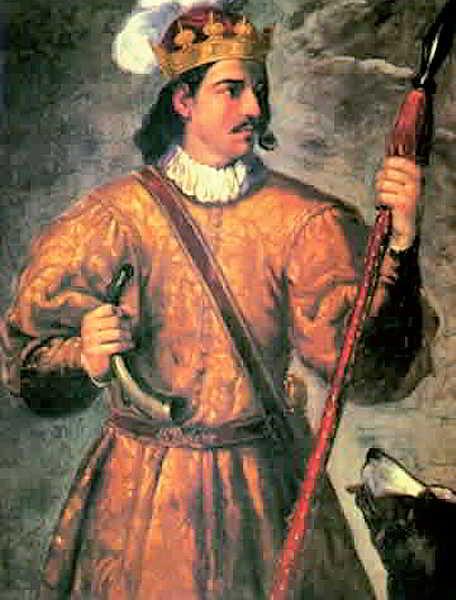 Retrat de Joan I el Caçador, pare de Violant.