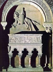 Sepulcre de Berenguer III, a Ripoll.