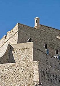 Detall del Fort Sant Nicolau.