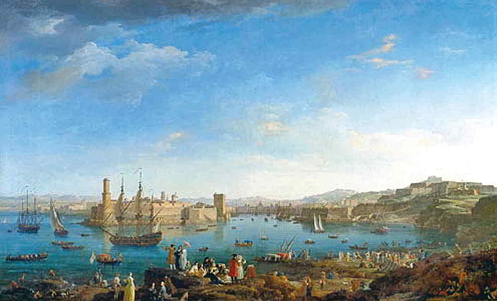 Entrada del Port de Marsella. Joseph Vernet.
