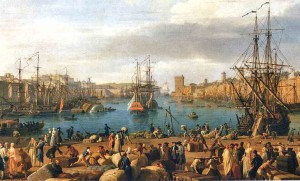 Interior del Port de Marsella. Joseph Vernet.