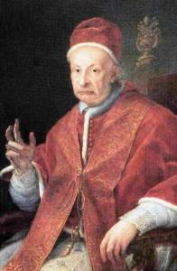 Retrat de Benet XIII, anomenat Papa Luna.