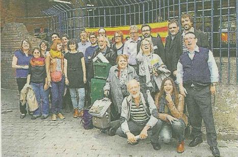Els delegats a la 5ª trobada de Comunitats Catalanes de l'Exterior a Europa